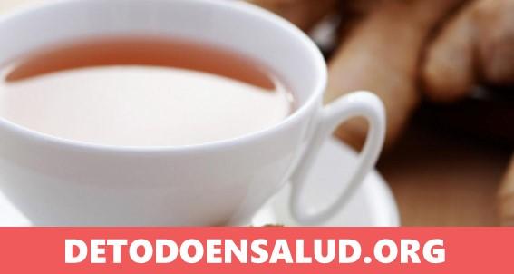 Razones por las que deberías beber té de jengibre