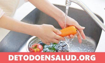 quitar toxicos y pesticidas de frutas y verduras