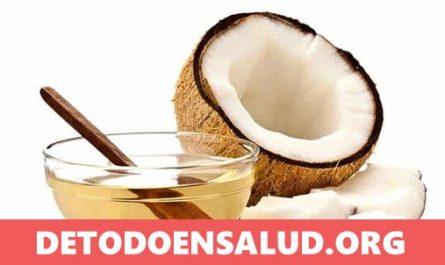 aceite de coco para el cabello sano