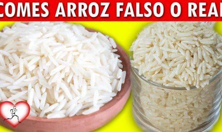 4 Maneras de reconocer si el arroz que comes a diario es falso o verdadero