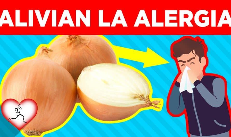 Estos 10 alimentos alivian los síntomas de alergia