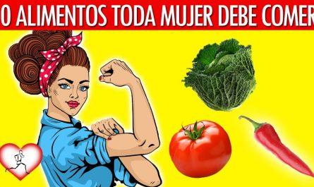 mejores alimentos para las mujeres