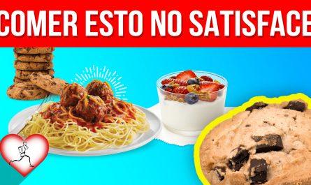 10 Alimentos que te HACEN DAR MÁS HAMBRE después de comerlos