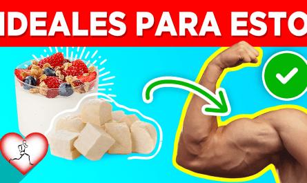 20 Súper alimentos que hacen AUMENTAR la masa muscular y tener músculos sanos y fuertes