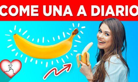 Come una banana a diario y estas 10 cosas pasarán en tu cuerpo