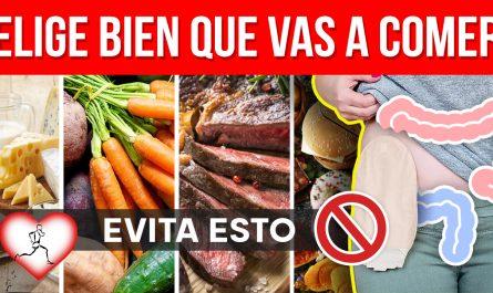 MEJORES y PEORES alimentos para prevenir el CÁNCER DE COLON