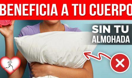 Por qué dormir sin almohada produce estos 10 beneficios en el cuerpo