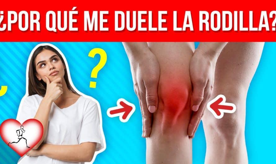 ¿Por qué me duele la RODILLA? 15 Causas más comunes que producen dolor intenso en las rodillas