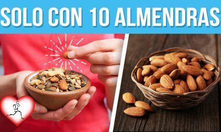 Come 10 ALMENDRAS todos los días y estos 20 BENEFICIOS pasaran en tu cuerpo