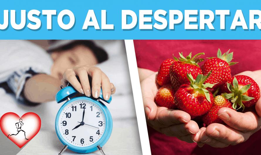 Come 5 fresas todos los días en la mañana y esto pasará en tu cuerpo NO LO CREERÁS