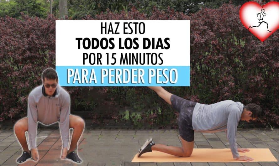 Haz Esto Todos Los Días Por 15 Minutos y Pierde Peso En Pocas Semanas