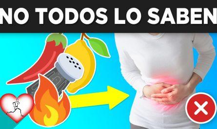 10 Alimentos que causan acidez estomacal y aun NO LO SABIAS
