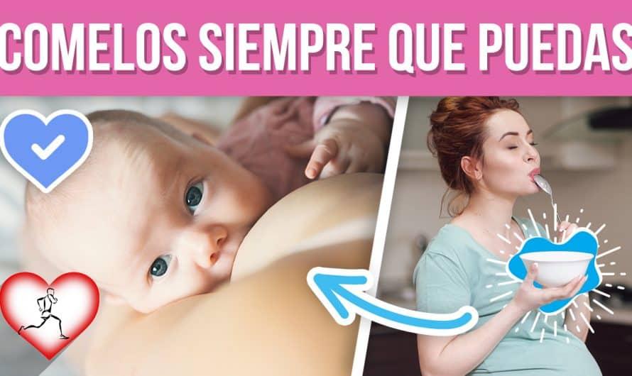 10 Alimentos que debes comer si estas LACTANDO o a acabas de tener un bebe