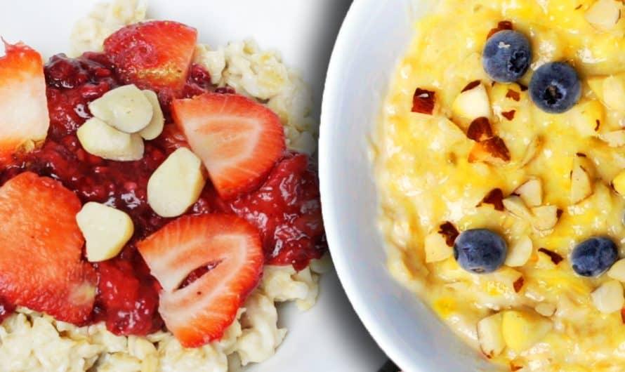 5 Recetas Saludables Con Avena | Ideas Faciles Para Desayunar