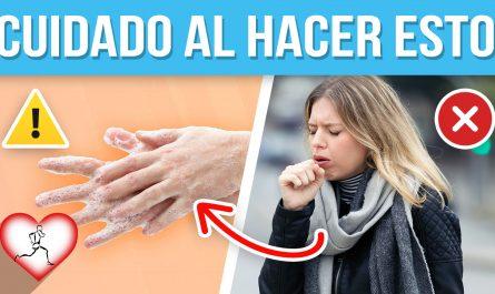 9 Cosas que te harán CONTRAER UN VIRUS o infección en los pulmones fácilmente