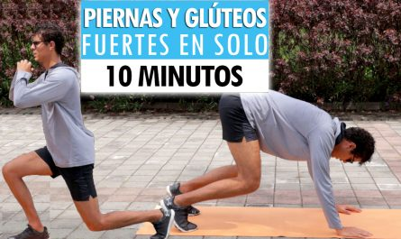 Entrenamiento de 10 minutos para PIERNAS Y GLÚTEOS | Piernas y glúteos fuertes en CASA