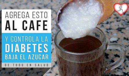 AGREGA esto al CAFÉ y mira lo que pasará con la diabetes y para BAJAR el azúcar en sangre