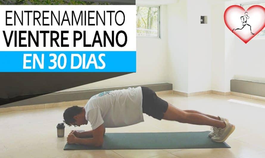 15 Minutos de entrenamiento de VIENTRE PLANO en 30 dias | Entrenamiento gratis en casa