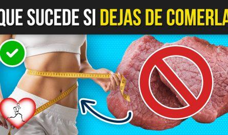 10 COSAS que pasan en tu cuerpo si DEJAS de comer CARNE