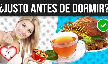 12 MEJORES alimentos para COMER antes de ir a DORMIR - Alimentos LIVIANOS que no dañan tu digestión