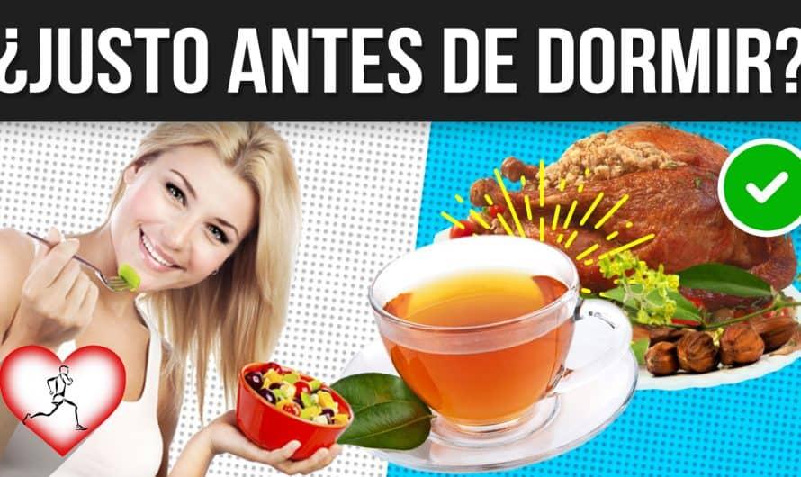 12 MEJORES alimentos para COMER antes de ir a DORMIR – Alimentos LIVIANOS que no dañan tu digestión