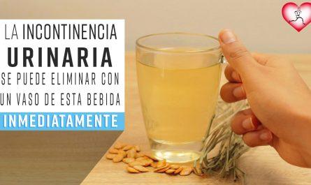 La INCONTINENCIA urinaria se puede ELIMINAR con un vaso de esta BEBIDA