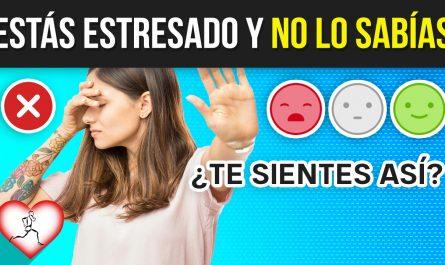 10 síntomas SILENCIOSOS que INDICAN que tienes ESTRÉS