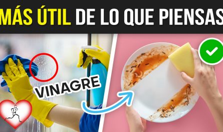 12 TRUCOS de limpieza con VINAGRE para tu HOGAR que te dejaran sorprendido