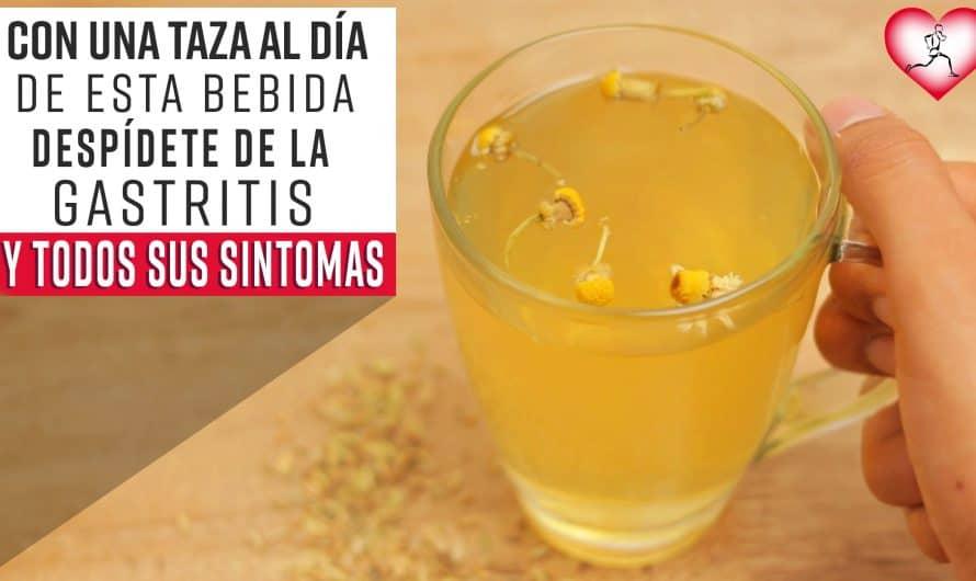 Con una TAZA de esta bebida DESPÍDETE de la GASTRITIS y de todos sus MOLESTOS SÍNTOMAS