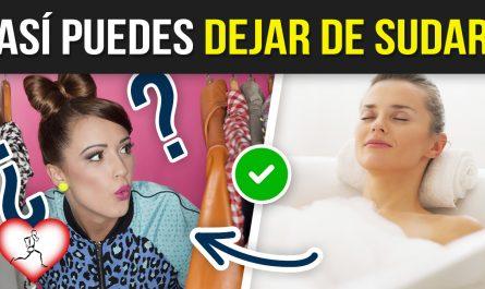 10 Maneras SENCILLAS para DEJAR DE SUDAR que realmente funcionan