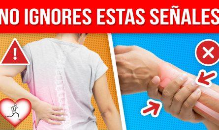 11 Señales que INDICAN de que puedes sufrir OSTEOPOROSIS y debes estar ALERTA