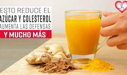Esto reduce el Azúcar y Colesterol, aumenta Las Defensas y Mejora el Sistema Inmune