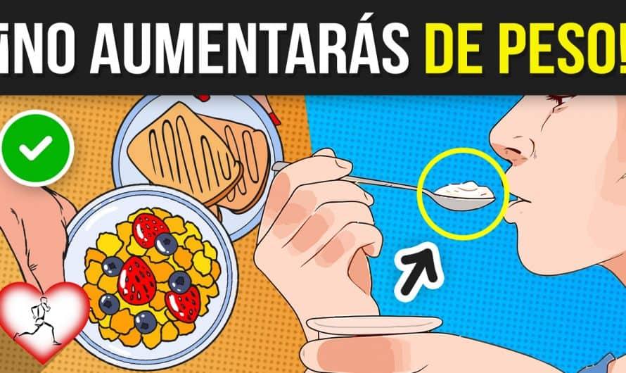 10 Increíbles Alimentos que PUEDES COMER lo que quieras y no AUMENTARAS DE PESO