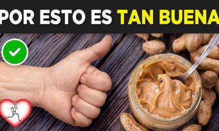 10 RAZONES por las que DEBERÍAS consumir MANTEQUILLA DE MANÍ