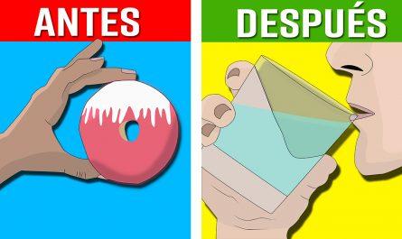 10 MANERAS sencillas de CONTROLAR los ANTOJOS por alimentos NO SALUDABLES