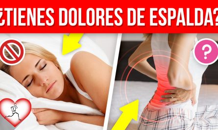10 Maneras más fáciles de aliviar el DOLOR DE ESPALDA desde casa
