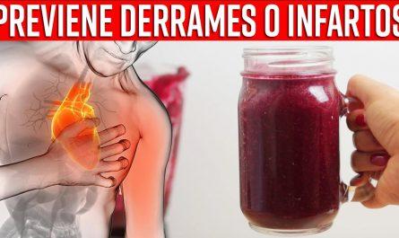 Batido Increíble Para Prevenir un Accidente Cerebrovascular O Derrame Cerebral,Infarto y Cardiopatía