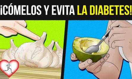 Para PREVENIR la DIABETES, agrega estos 10 alimentos con bajo ÍNDICE GLUCÉMICO a tu DIETA y agradece