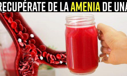 CUANDO TOMAS Este Batido En Ayunas Durante 1 Semana se Cura La Anemia NATURALMENTE