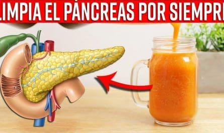 Beba este Batido para Limpiar Definitivamente el Páncreas y Mejorar la Función Digestiva