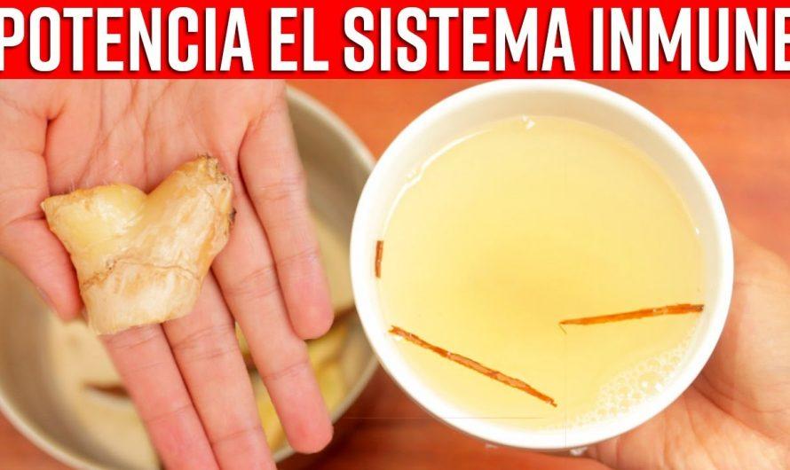 Té de Jengibre y limón para Mejorar el Sistema Inmune, Limpiar los Pulmones y Adiós Resfriado