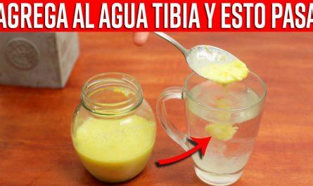 Agrega Esto A Tu Agua Tibia Y Elimina El Dolor De Garganta, Mejora el Sistema Inmune Y Limpia Pulmon