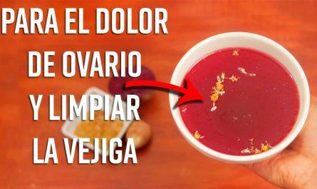 Este Té de Manzanilla y Jengibre, Alivia el Dolor de Ovario, Limpia la Vejiga y Renueva el Útero