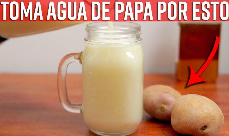 Toma Agua De Papa En Ayunas Y Mira Todos Los Beneficios Que Hará Por ti  ¿Cómo Hacer Agua De Papa?