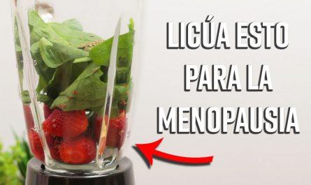 Combina esto en una Licuadora para Combatir y detener los Síntomas de la Menopausia al Instante