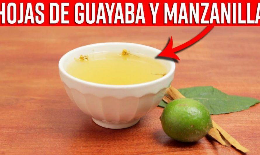 Con Este Té De Hojas De Guayaba Y Manzanilla Relaja Tu Cuerpo, Desintoxica Y Alivia Los Cólicos