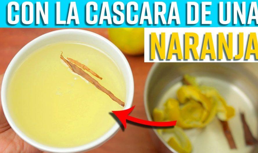 Cuando Agregas Cáscara de Naranja con 3 Palos de Canela a tu agua esto es lo que sucede en tu cuerpo