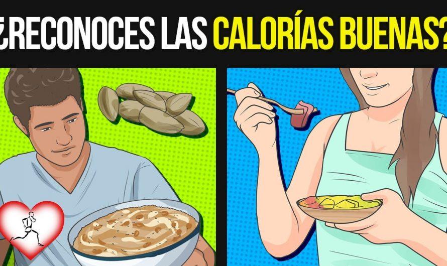 8 Alimentos SALUDABLES con CALORIAS que son BUENOS en tu dieta y 5 con CALORIAS PERJUDICIALES