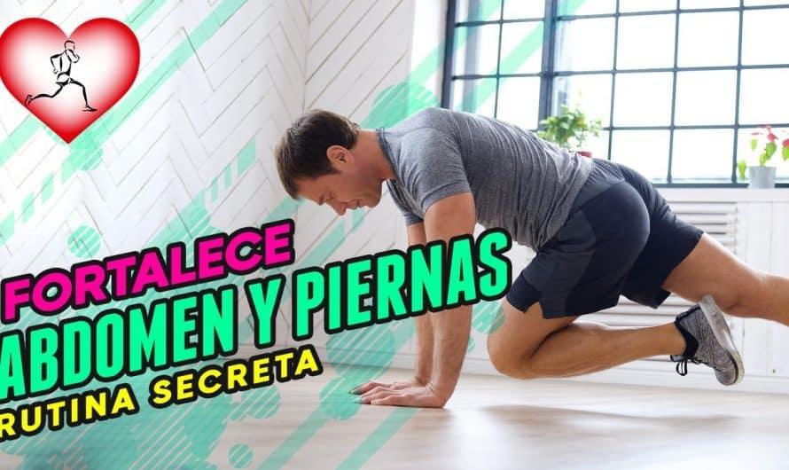 Rutina Secreta Para Fortalecer Las Piernas y Abdomen Desde Casa