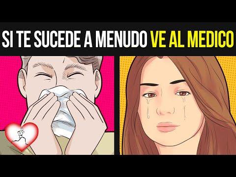Estos son los 10 Síntomas que se Presentan cuando estás Sufriendo de SINUSITIS, Visita un doctor si